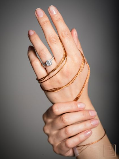 Jewellery Photography - Ring & Necklace